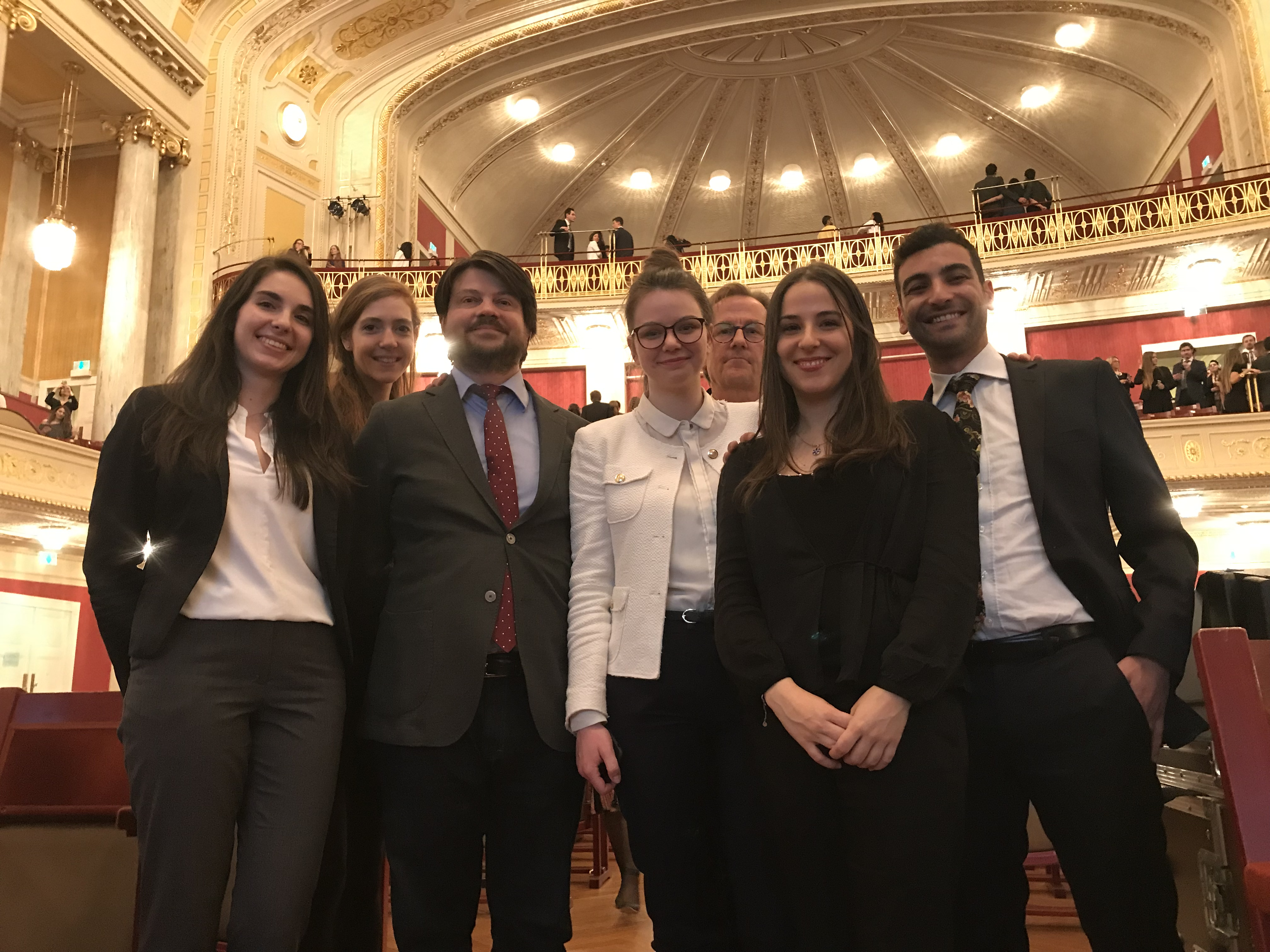 The 25th Annual Vis International Commercial Arbitration Moot in Vienna
